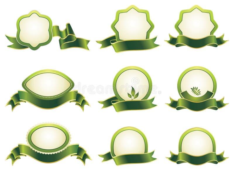 Reeks ontwerpelementen. vector illustratie
