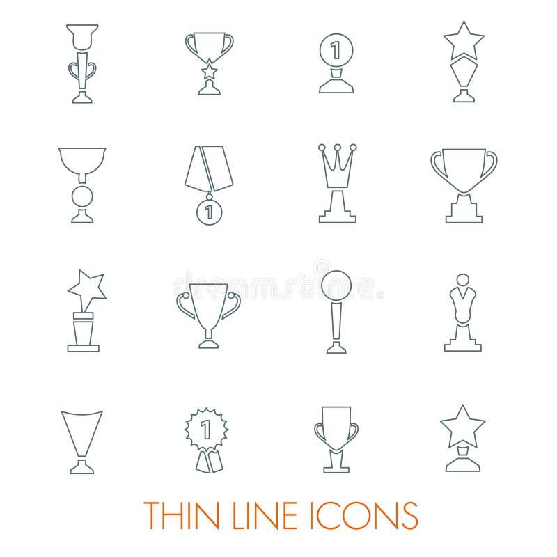 Reeks pictogrammen stock afbeelding
