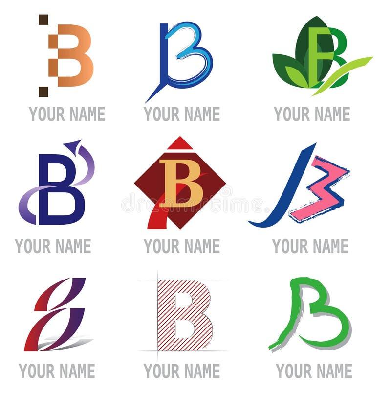 Reeks Pictogrammen van de Brief - Brief B