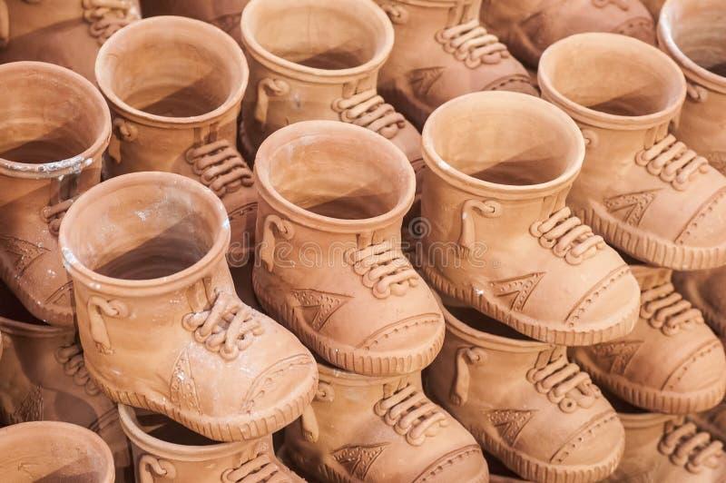 Reeks schoenen royalty-vrije stock fotografie