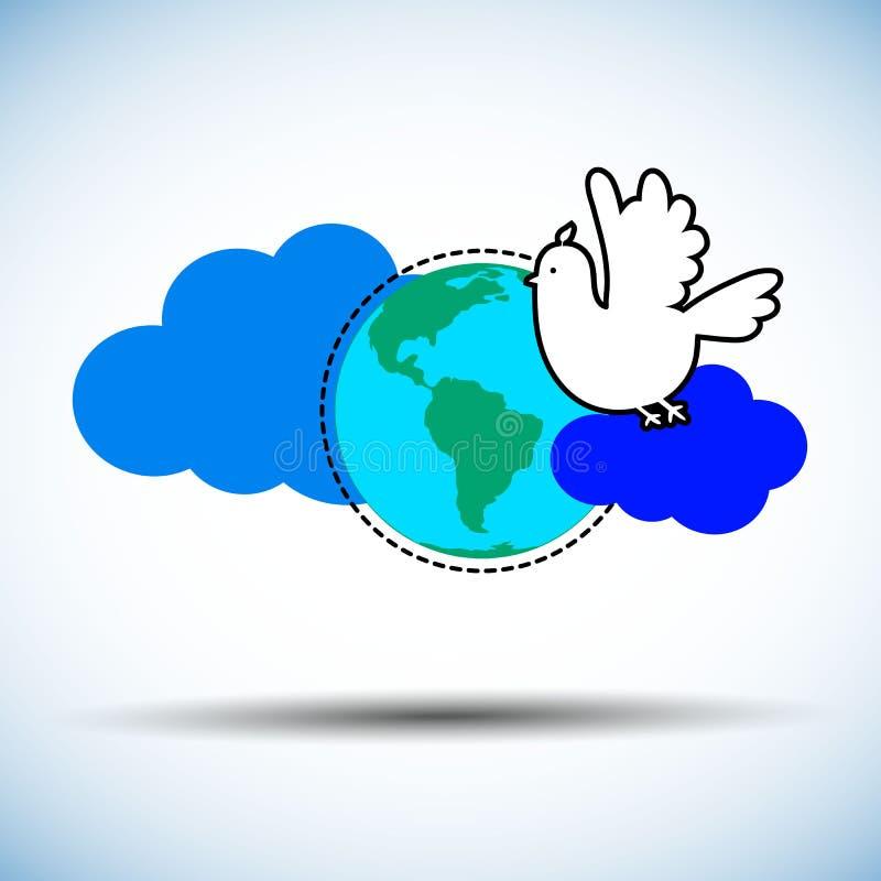 Reeks symbolen voor de Internationale Dag vector illustratie