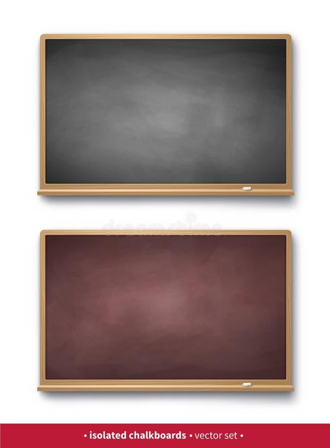 Reeks uitstekende horizontale borden vector illustratie