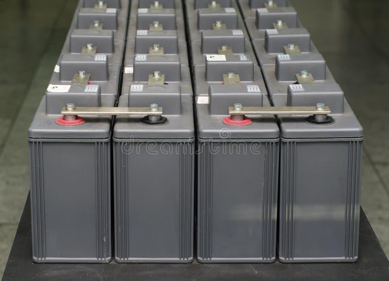 Reeks van batterij royalty-vrije stock foto