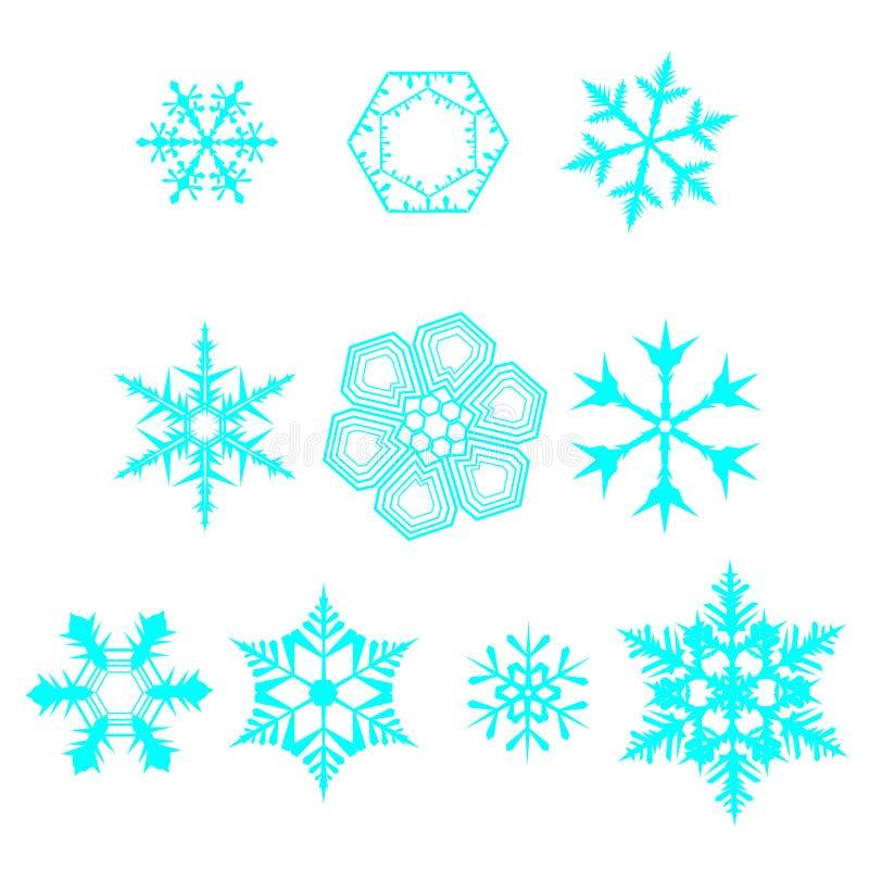 Reeks van 16 geïsoleerde elementen op witte achtergrond vector illustratie