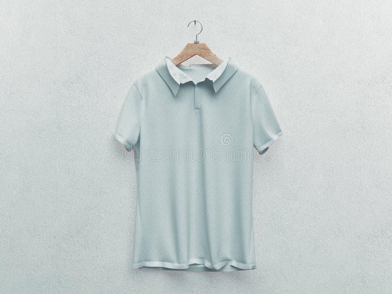 Reeks van ge?soleerde witte t-shirt of realistische kleding het 3d teruggeven lege of lege, duidelijke katoenen t-shirt Man en Vr vector illustratie