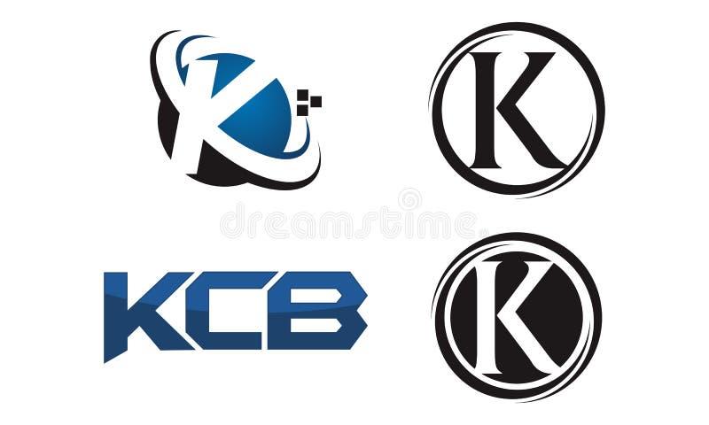 Reeks van het Logotype de Moderne Malplaatje vector illustratie