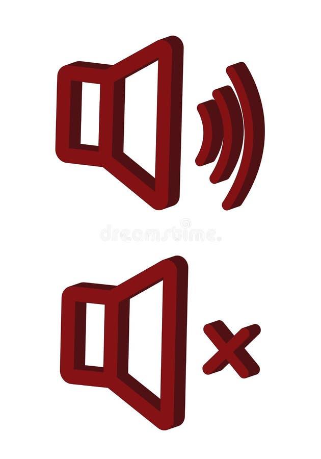 Reeks van Inzamelings moderne vector Geen Correct stevig pictogram multitype van 3d isometrisch, lijn, gekrabbelbroedsel, krabbel royalty-vrije illustratie