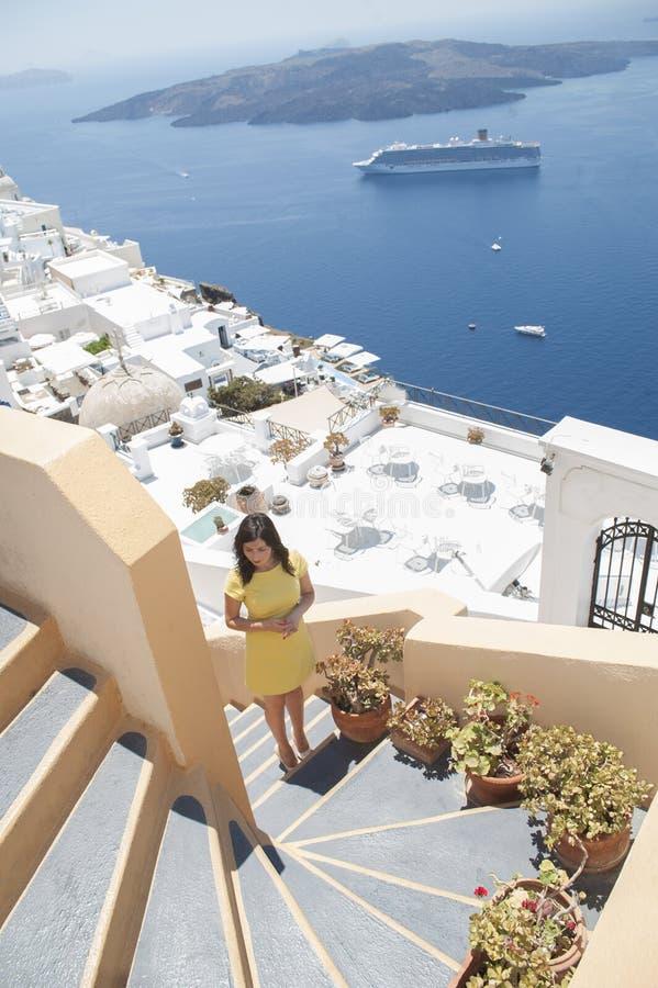 Reeks van Santorini Griekenland royalty-vrije stock fotografie