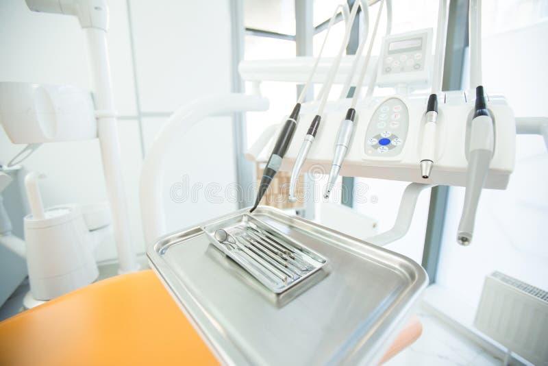 Reeks van tandarts royalty-vrije stock afbeelding