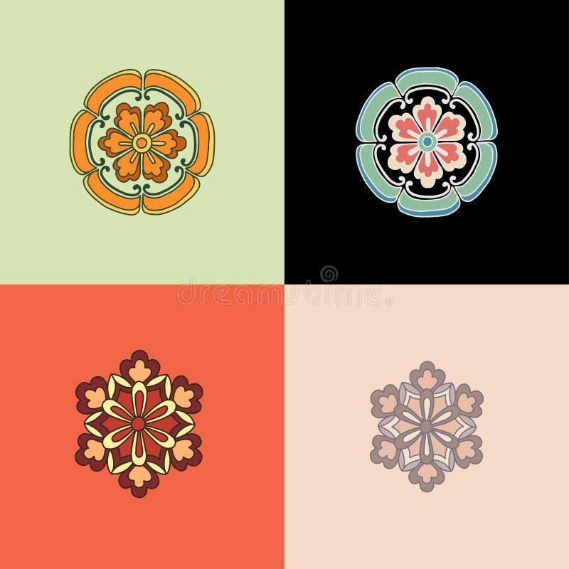 Reeks vector grafische elementen voor ontwerp vector illustratie