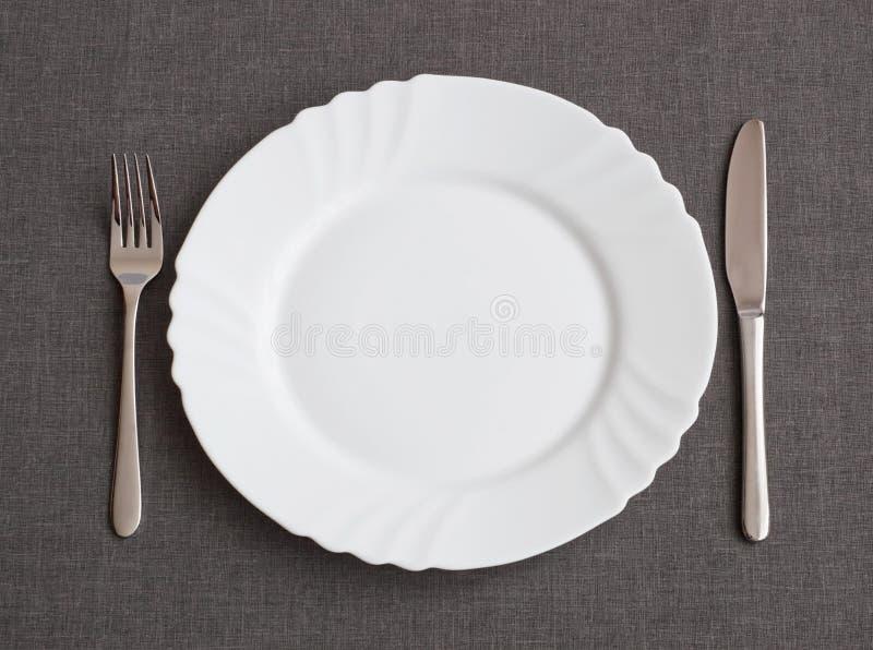 Reeks voor diner stock foto