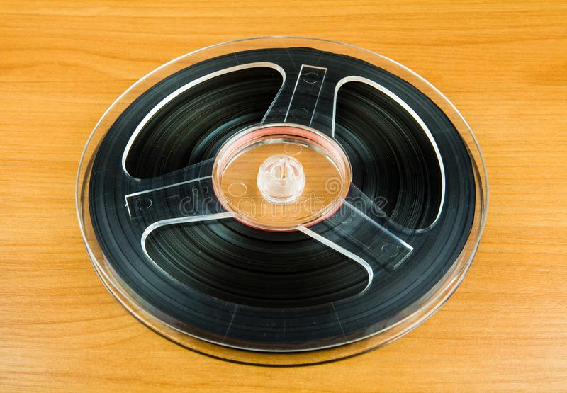 Reel with a Tape royalty free stock photo
