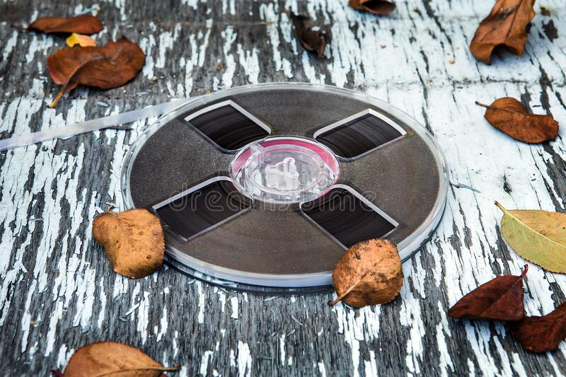 Reel to Reel Tape fotografia de stock