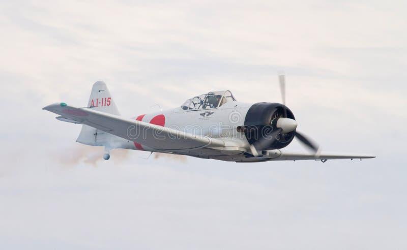 Reenactment do ataque do Pearl Harbor imagens de stock