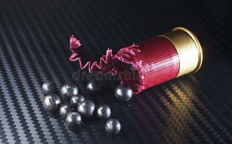 Reeposten munitie royalty-vrije stock afbeelding