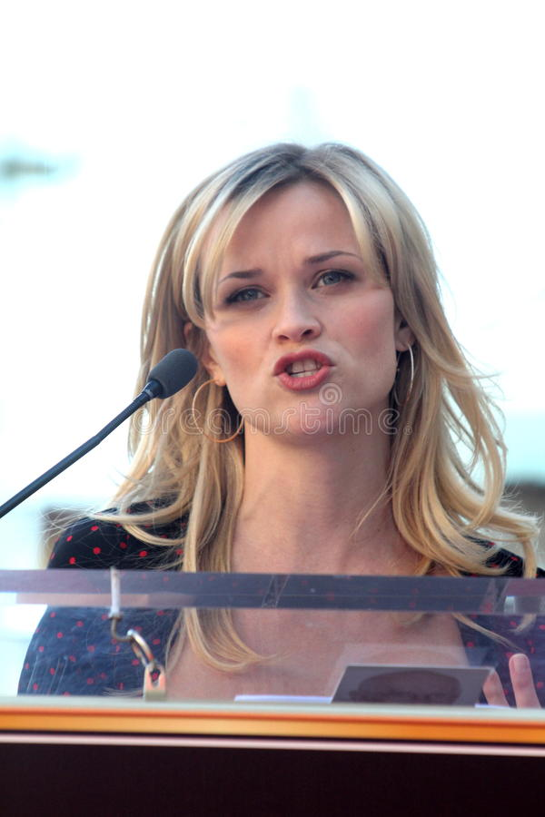 Download Reese Witherspoon editorial image. Image of reese, induction - 24618090