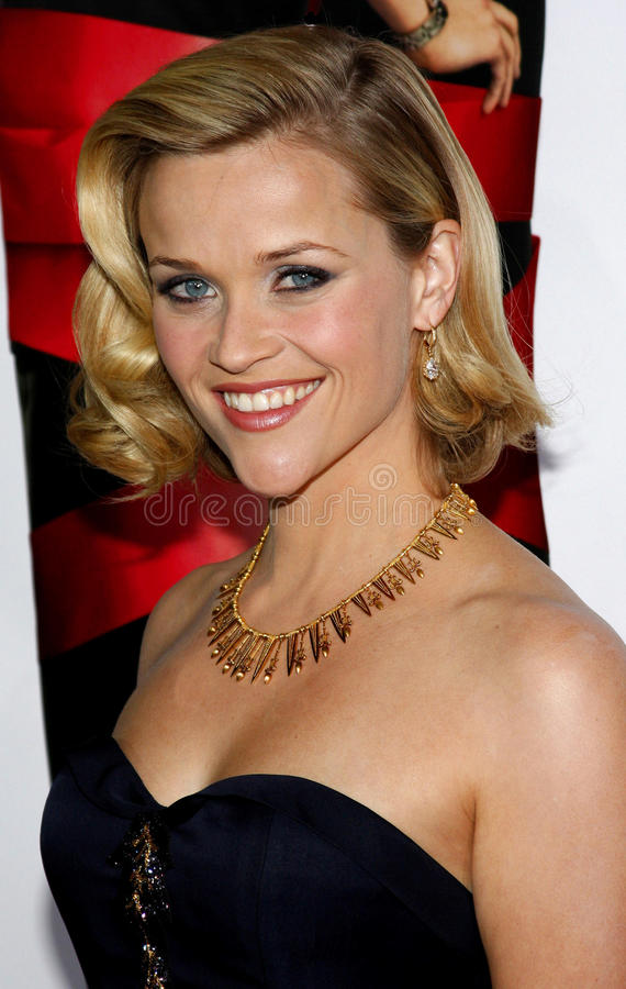 reese witherspoon royaltyfria foton