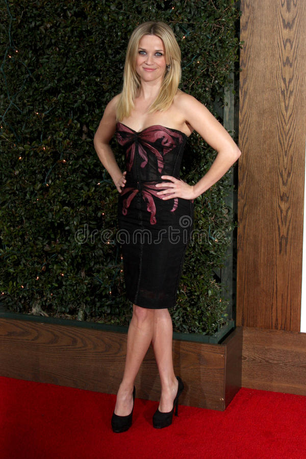 Reese Witherspoon, Heather Tom imagem de stock