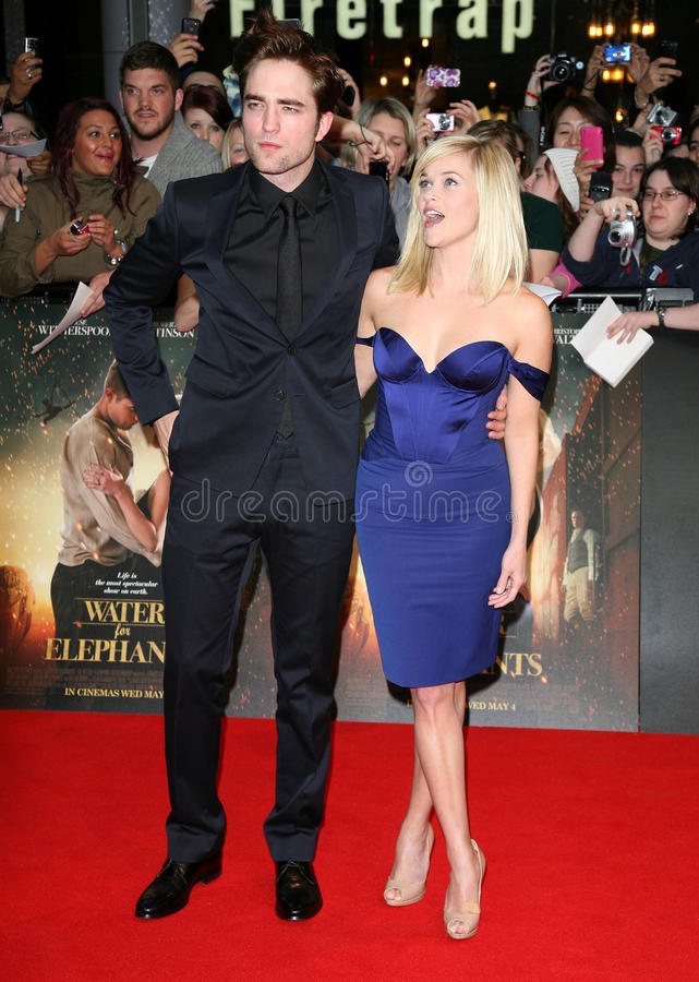 Download Reese Witherspoon,Robert Pattinson Editorial Stock Image - Image: 26026694