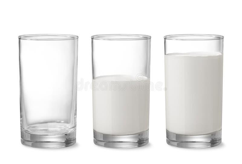 Refaites le plein du lait photographie stock libre de droits