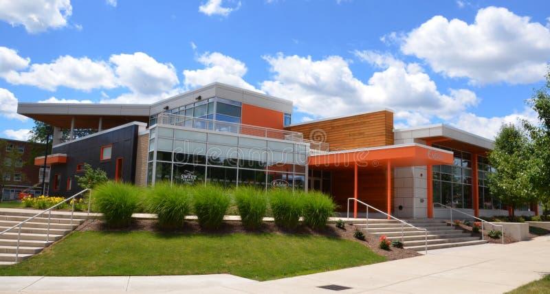 Refectorio de la universidad de estado de Bowling Green foto de archivo