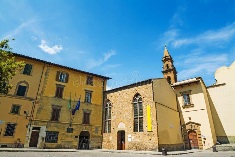 Refectory Santo Spirito στη Φλωρεντία στοκ εικόνες με δικαίωμα ελεύθερης χρήσης