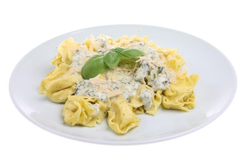Refeição da massa do Tortellini fotos de stock