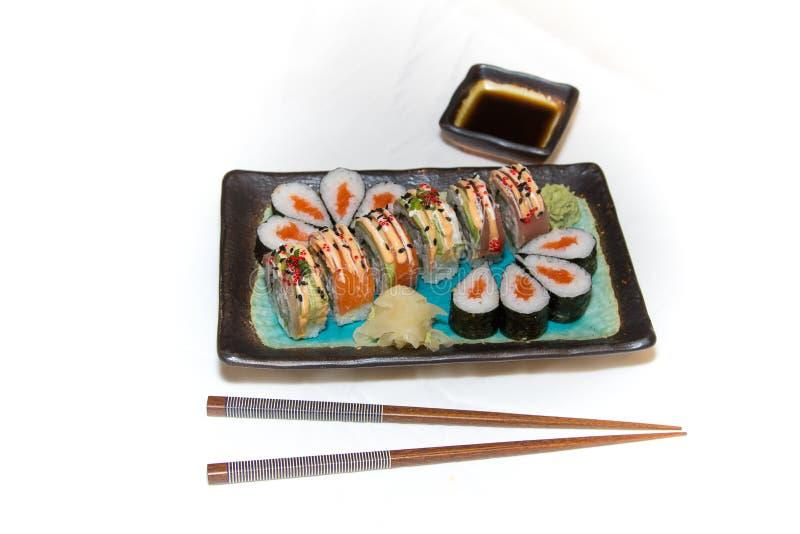 Refeição do sushi fotos de stock royalty free