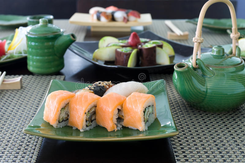 Refeição japonesa imagens de stock royalty free