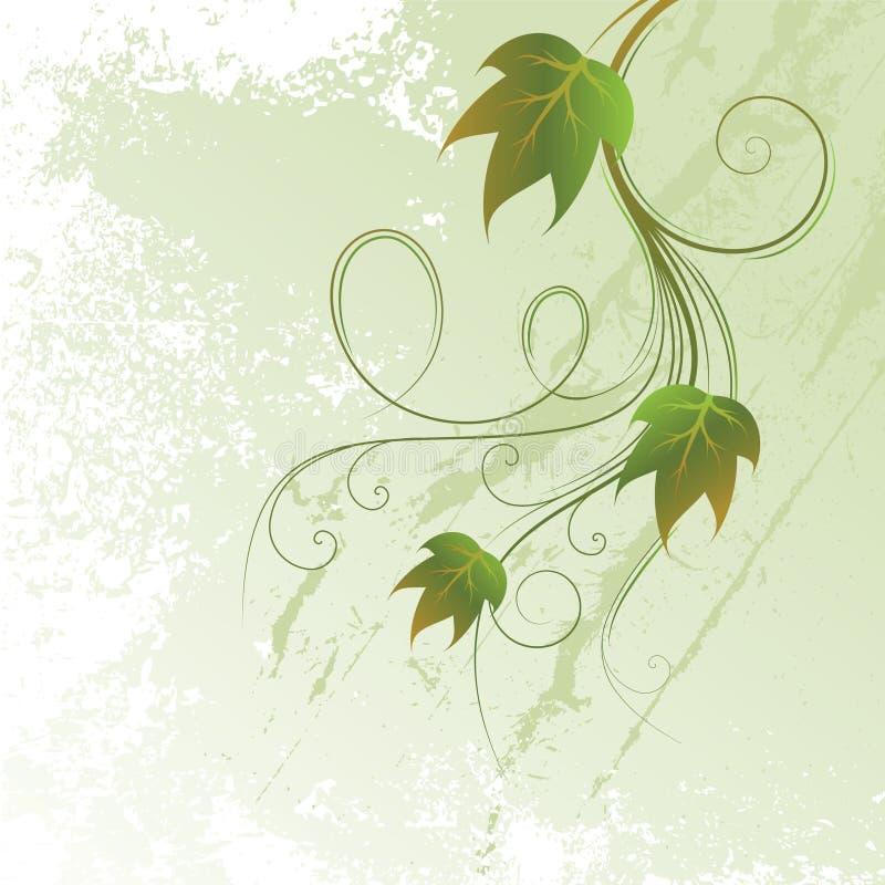 Refeição matinal da uva ilustração do vetor