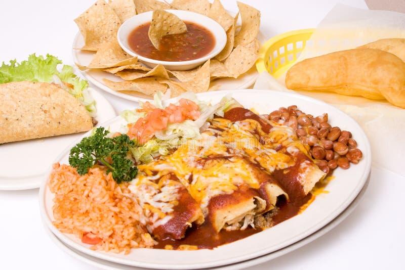 Refeição mexicana foto de stock royalty free