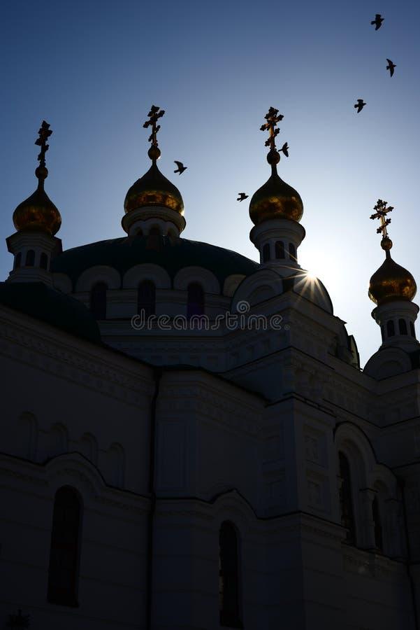 Refektarza kościół obrazy royalty free