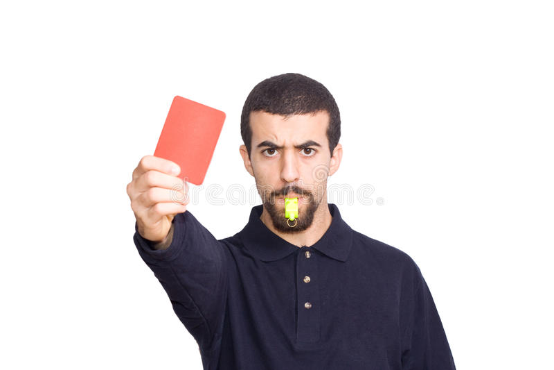 Referee Stock Image
