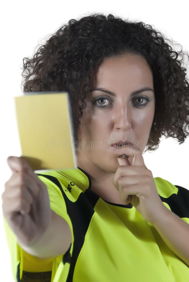 Download Referee stock photo. Image of dismissal, punishment, shirt - 25885902