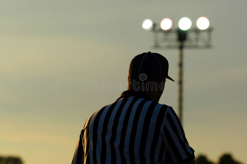Referee 3 Stock Photography