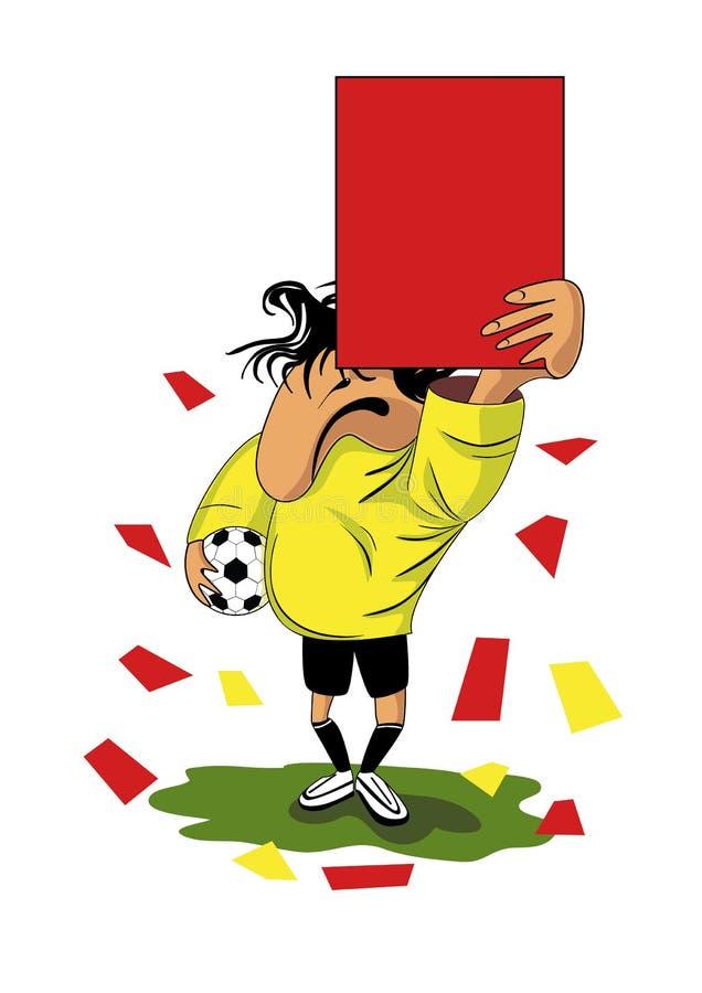 Referee stock illustration