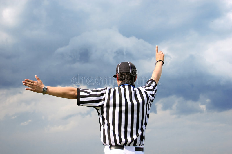 Referee stock images