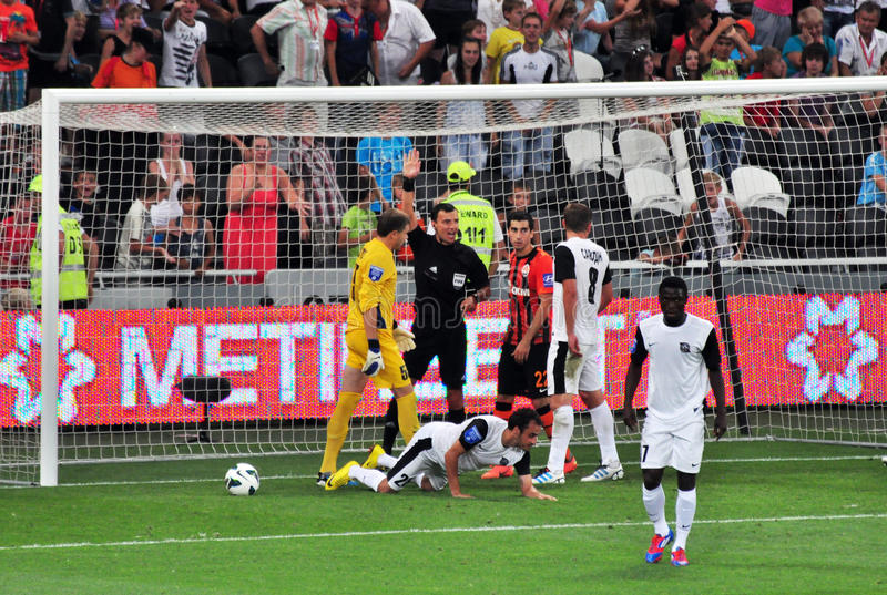 Download The Referee Did Not Count Towards A Goal Editorial Photography - Image: 25957367
