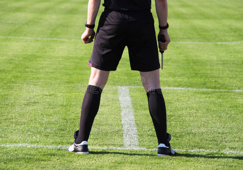Download Referee stock photo. Image of game, field, kick, pitch - 31043622