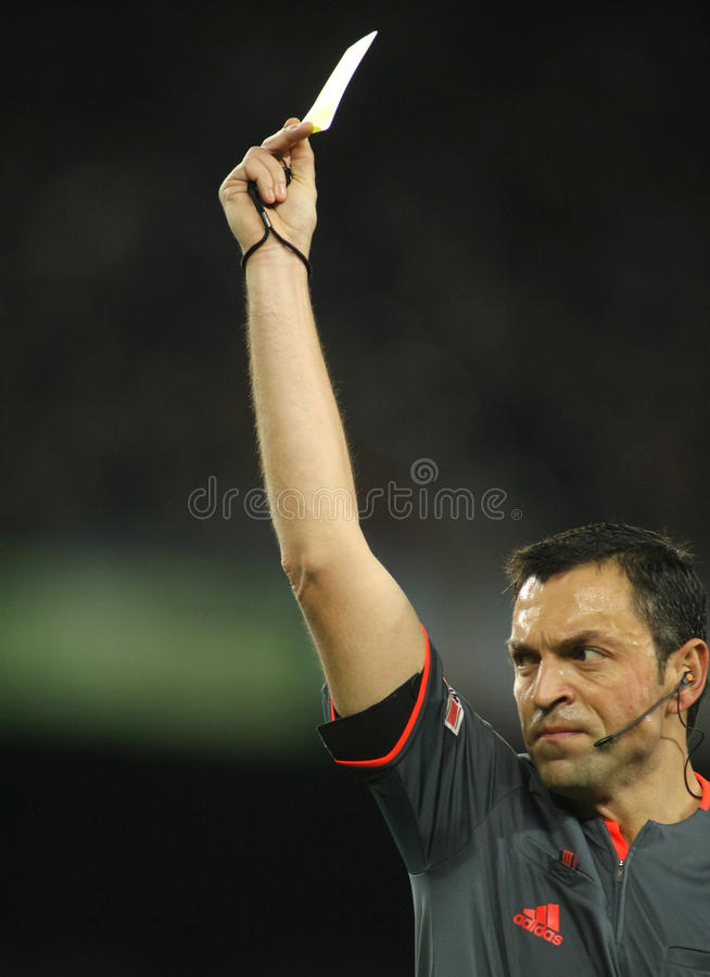 Download Referee Teixeira Vitienes Editorial Stock Image - Image: 12923399