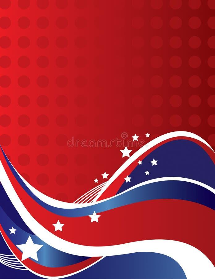 Referente à cultura norte-americana ilustração royalty free