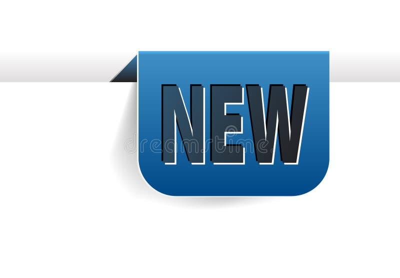 Referentie voor nieuw punt vector illustratie