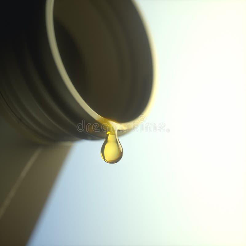 Refinaria da indústria do negócio de óleo imagens de stock royalty free