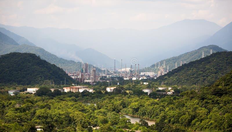 Refinaria Presidente Bernardes, Бразилия стоковое фото rf