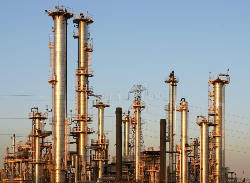 Refinería de petróleo #1 foto de archivo