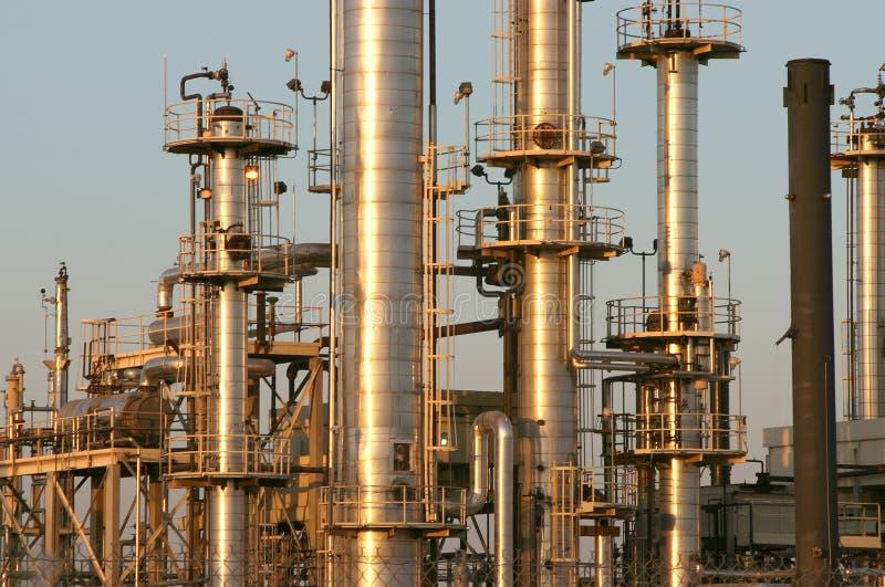 Refinería de petróleo #4 fotografía de archivo