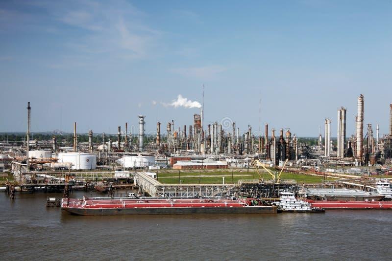 Refinery royalty free stock photo
