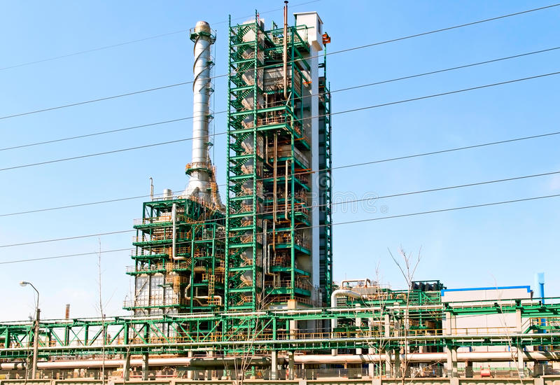 Download Refinery stock photo. Image of industry, industrial, technology - 23503316