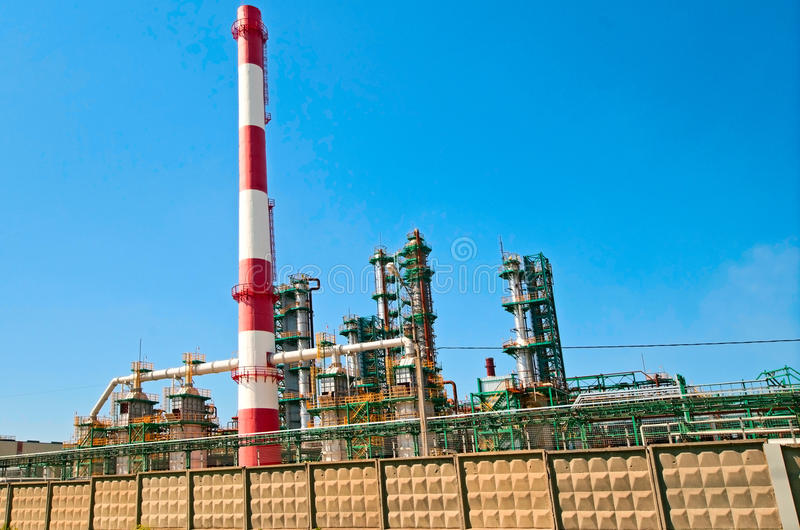 Download Refinery stock image. Image of energy, technology, factory - 23519293