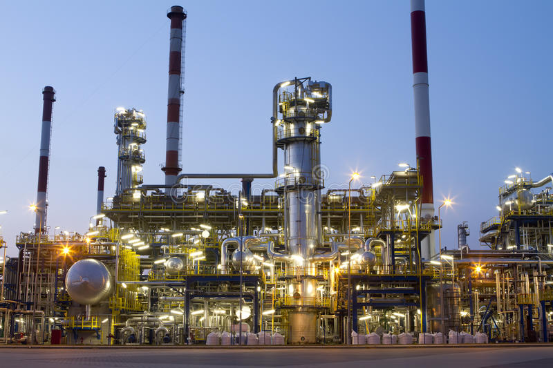 Refinery stock images